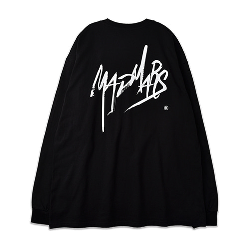 SKETCH LOGO LONG SLEEVE_BLACK