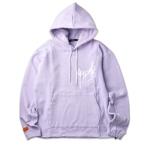 STRING HOODIE_LIGHT PURPLE