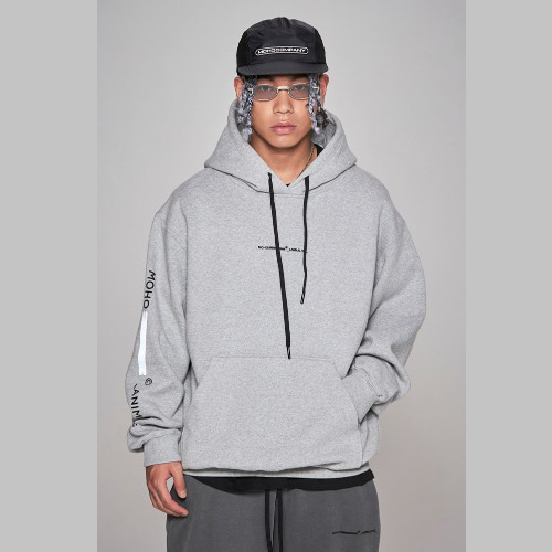 Lion scotch hoodie - grey