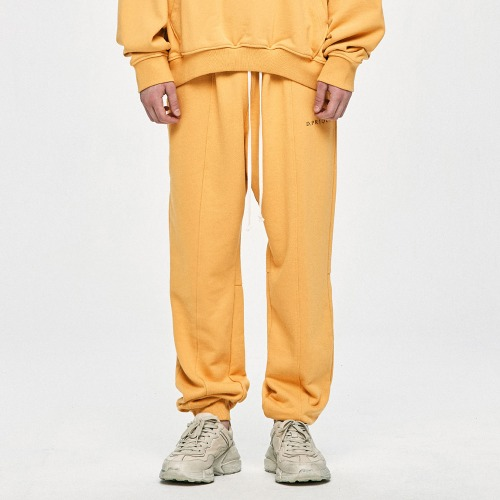 Logo Sweatpants - Yellow