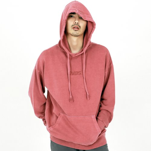 PIGMENT LOGO HOODIE I/PINK