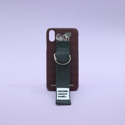 SUN CASE SMOKE BROWN DEEP GRAY (CHECK)