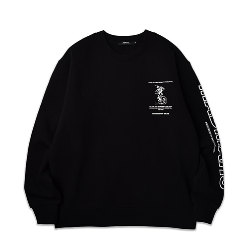 AIRPLANE SWEATSHIRT_BLACK