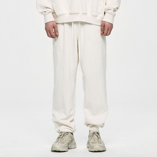 Logo Sweatpants -Ivory