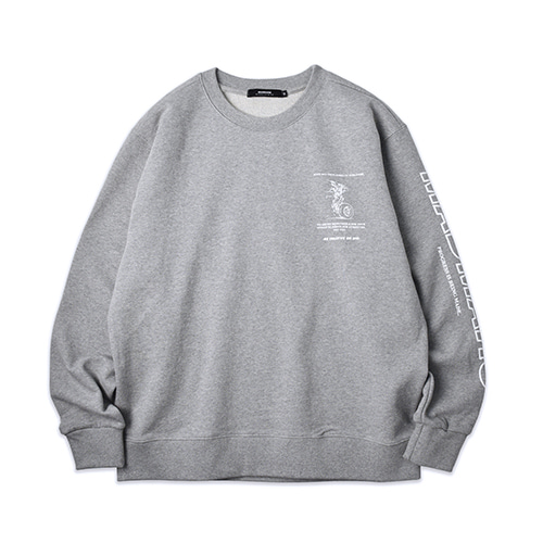 AIRPLANE SWEATSHIRT_GRAY