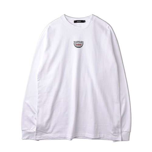 CONSCIOUSNESS LONG SLEEVE_WHITE