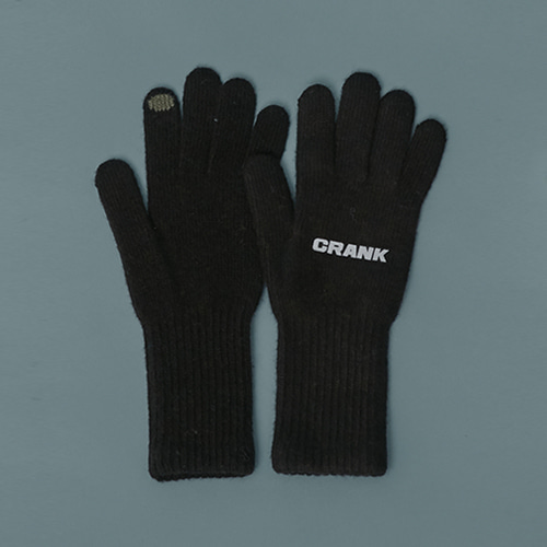 WOOL TOUCH GLOVES_D.BR