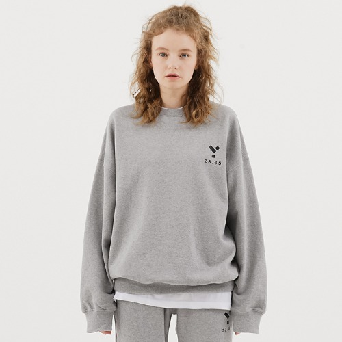 23.65 Logo Sweat Shirt Grey