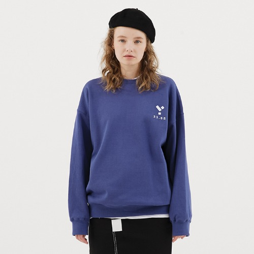 23.65 Logo Sweat Shirt Blue