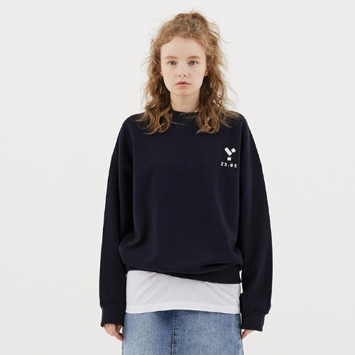 23.65 Logo Sweat Shirt Navy