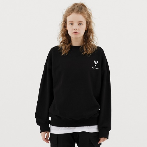 23.65 Logo Sweat Shirt Black