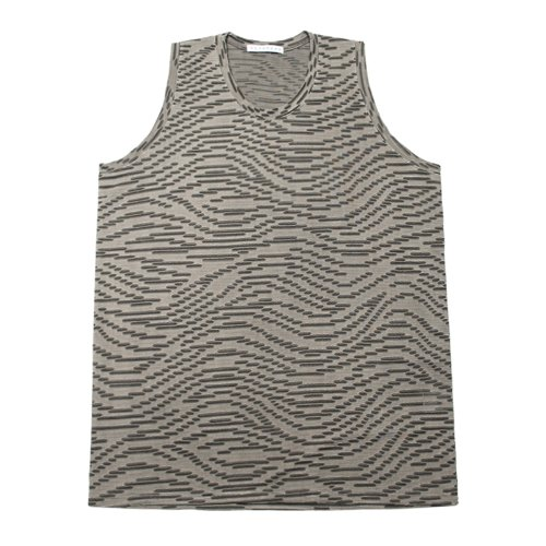 셋업이엑스이 GRUNGE SLEEVELESS - LIGHT GREY