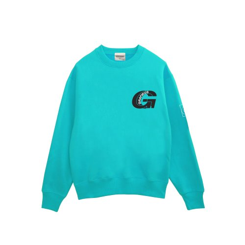 GREAT LOGO SWEAT TURQUOISE