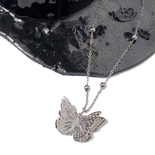Butterfly fly necklace