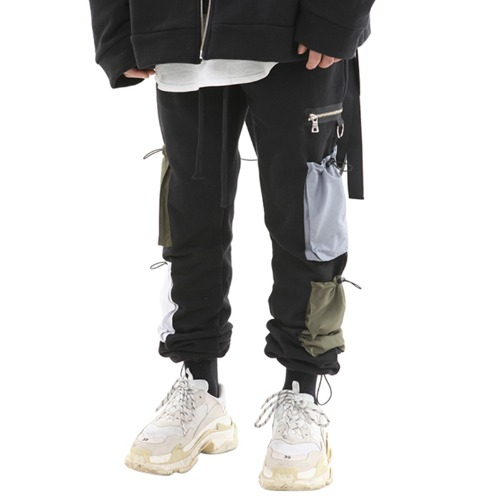 [기모] 4POCKET STRING JOGGER PANTS
