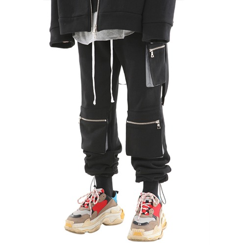 [기모] 3POCKET STRING JOGGER PANTS