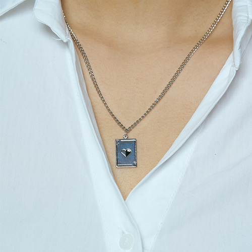 Card necklace