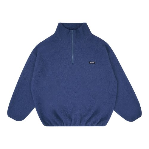 MG9F FLEECE ANORAK MTM (DARK BLUE)
