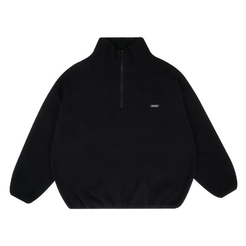 MG9F FLEECE ANORAK MTM (BLACK)
