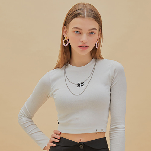 CHAIN RING CROP T_WT