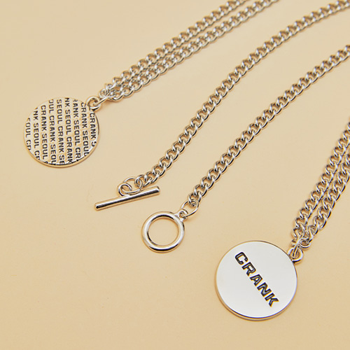 DOUBLE SIDED CHAIN NECKLACE