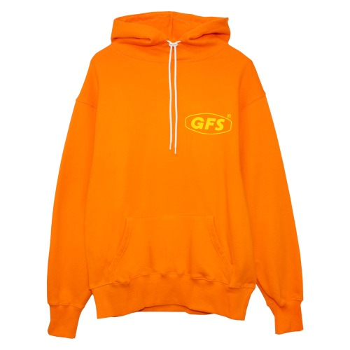 GFS SMALL LOGO ORANGE HOODIE