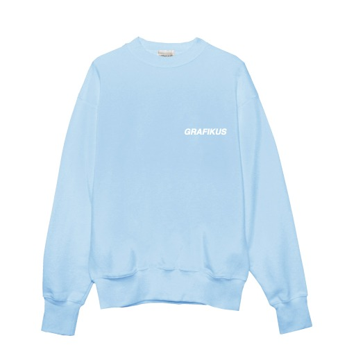 GRAFIKUS LOGO SKY BLUE SWEAT