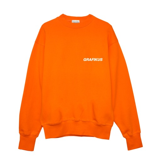 GRAFIKUS LOGO ORANGE SWEAT