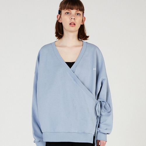 MG0S WRAP CARDIGAN MTM (SKY BLUE)